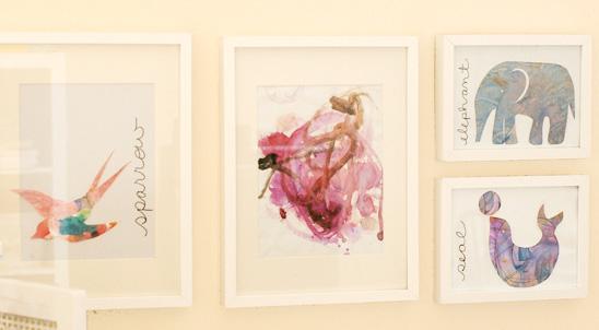 kinderzeichnungen aufbewahren aber wie butterflyfish. Black Bedroom Furniture Sets. Home Design Ideas