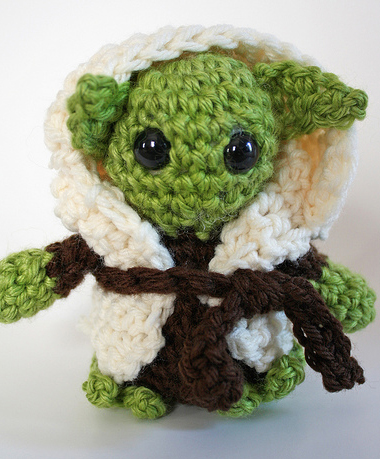 Häkelmeister Yoda Butterflyfish