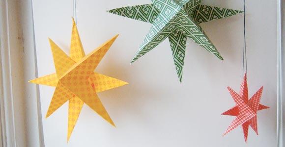 Weihnachtsdeko Papiersterne.Weihnachtsdeko Selber Machen Butterflyfish
