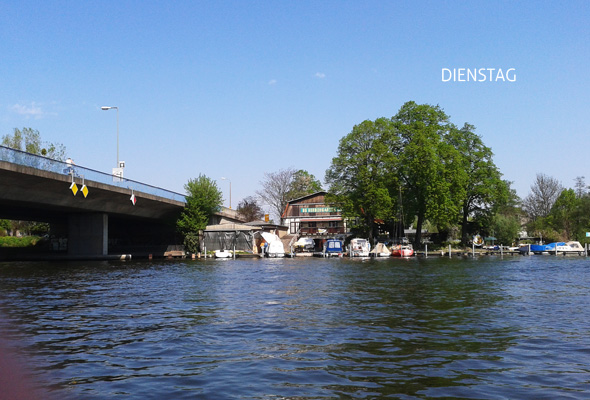 Bootfahren auf dem Müggelsee