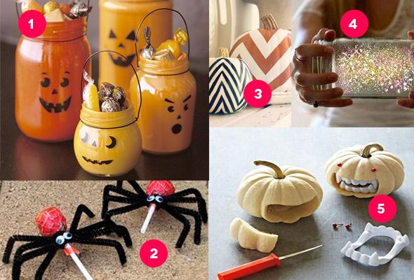 Dekorationsideen für Halloween