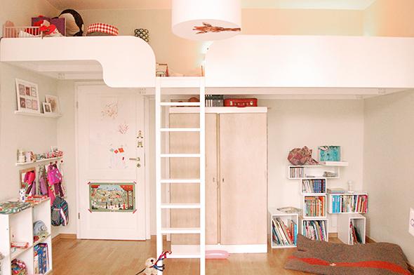 ein ma gefertigtes hochbett traum jedes kinderzimmers. Black Bedroom Furniture Sets. Home Design Ideas