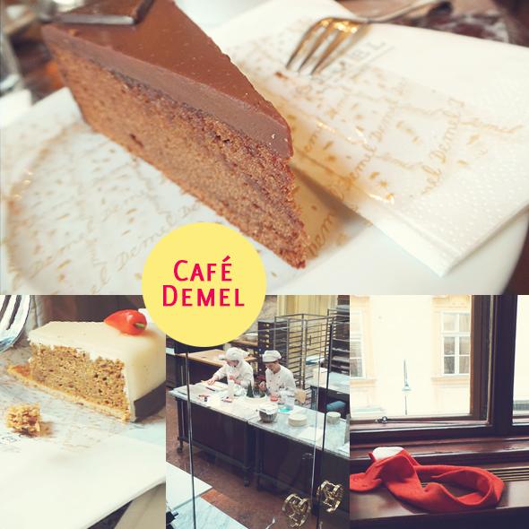 Wien mit Kind - Café Demel