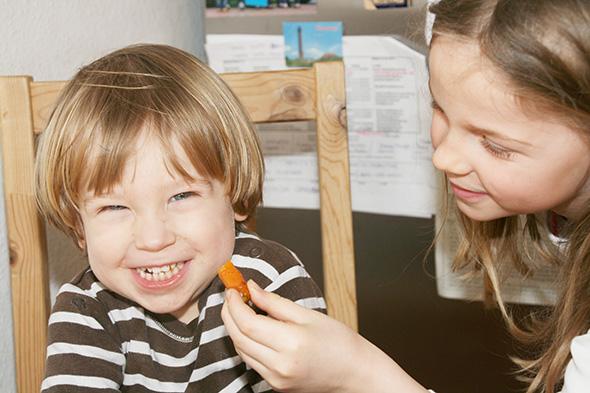 Kinderteller Kochen mit Kindern