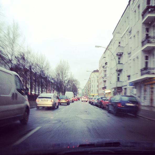Straße in Berlin