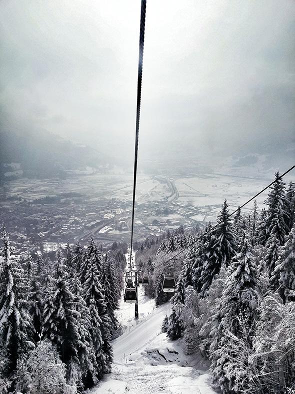 Areitbahn Zell am See Schmittenhöhe