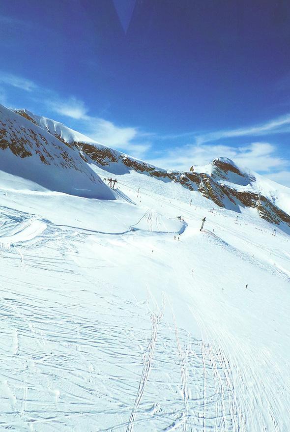 kitzsteinhorn Gipfelgondel
