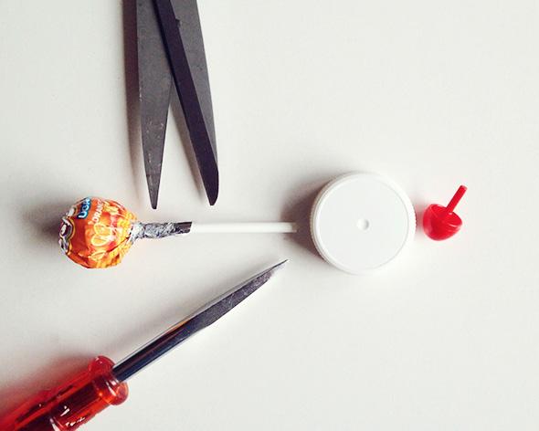 DIY Kreisel - Foto: Natalie Kramer
