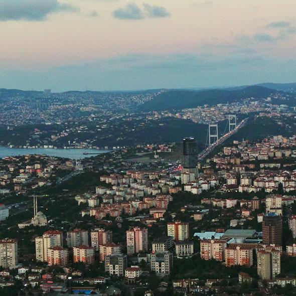 Istanbul mit Kind - Aussicht