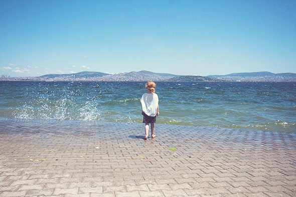 Istanbul mit Kind - Heybeliada - Strand