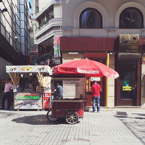 Istanbul mit Kind - food