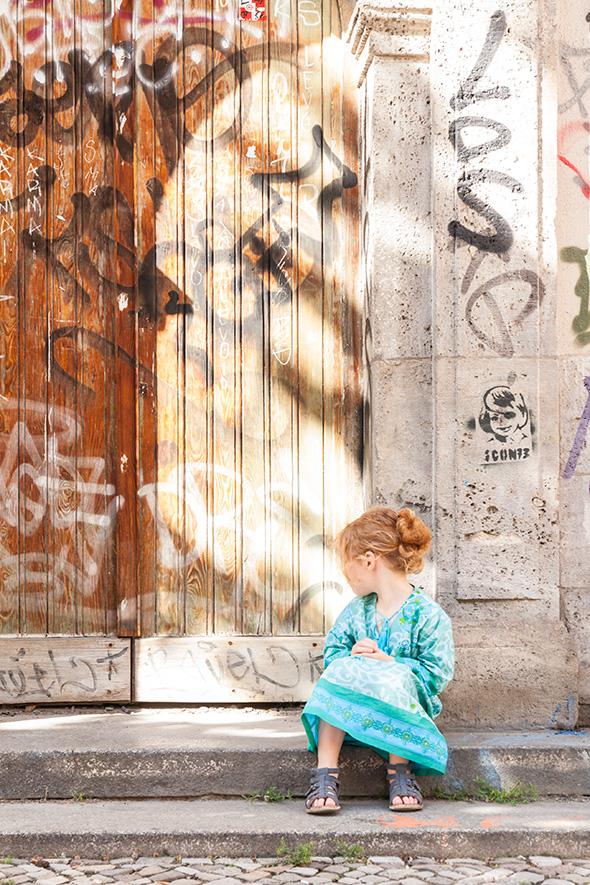 Instant Moment - Kaftan für Mädchen