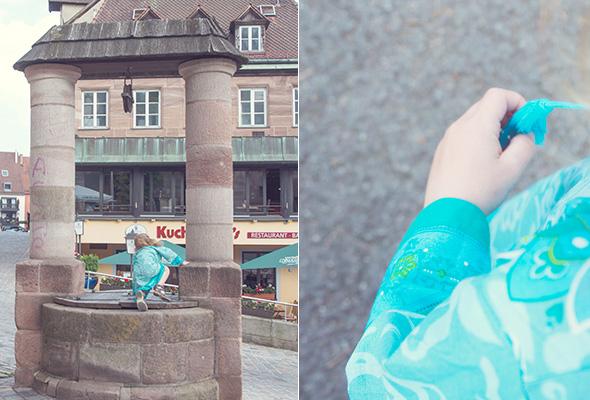 Little Platypus Kleid für Mädchen