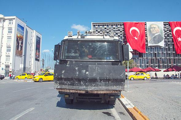 Taksim Wasserwerfer