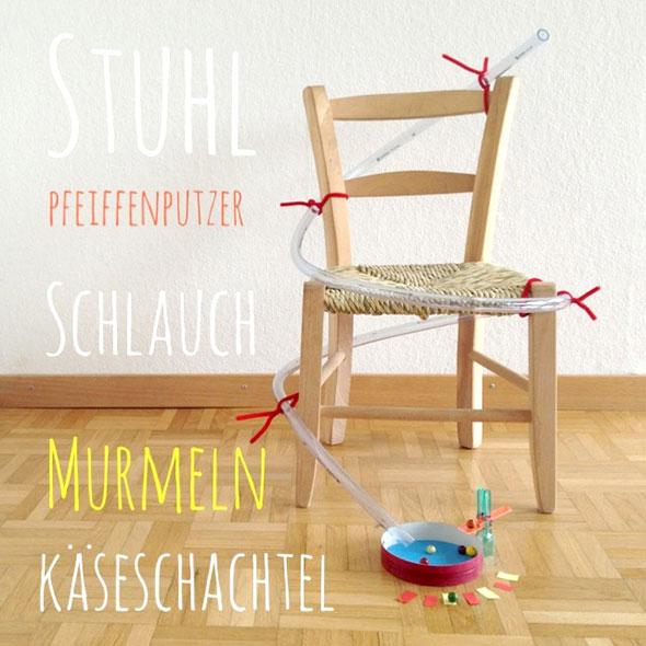 Murmelbahn Holz Selber Bauen ~ Freitags DIY Heute, die Schlauchmurmelbahn  Butterflyfish