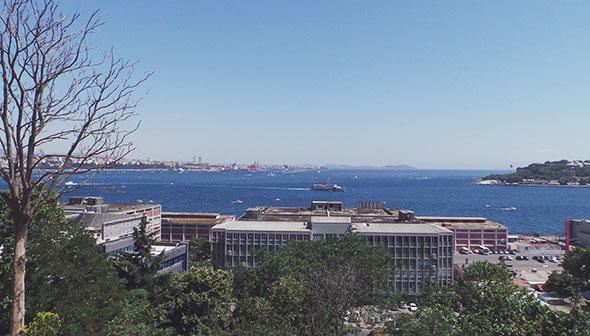 Ausblick Bosporus