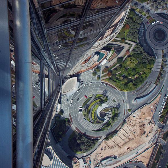 Geht nach unten - Burj Khalifa