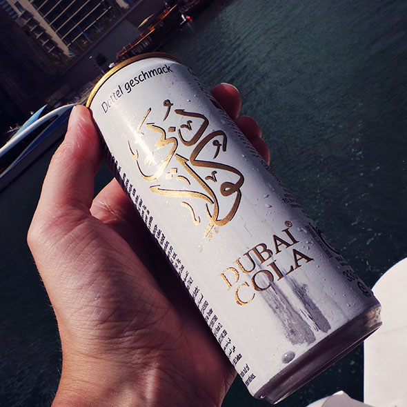 Dubai Cola mit Dattelgeschmack