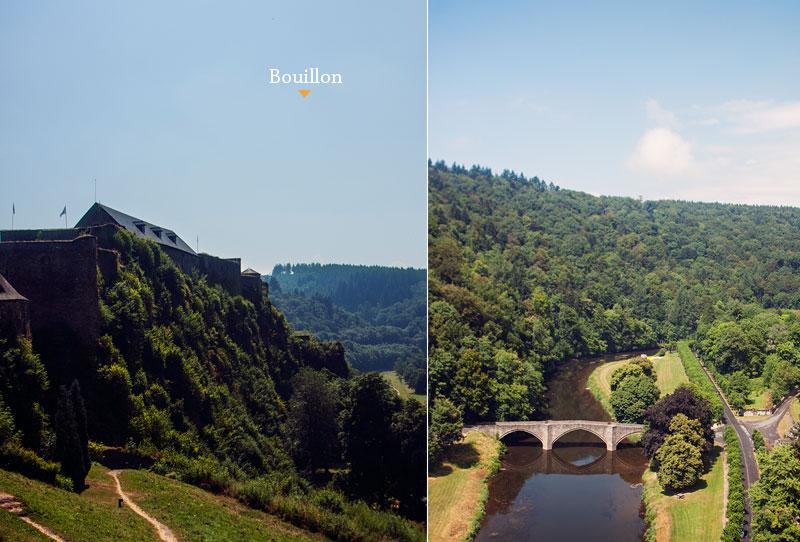 Burg von Bouillon Wallonie Belgien