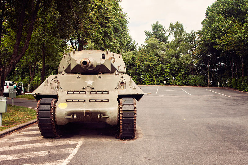 Panzer in Bastogne
