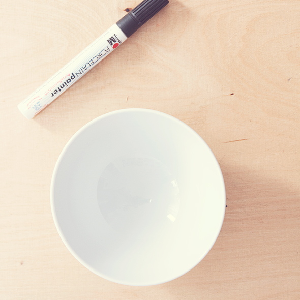 DIY Porzellan bemalen