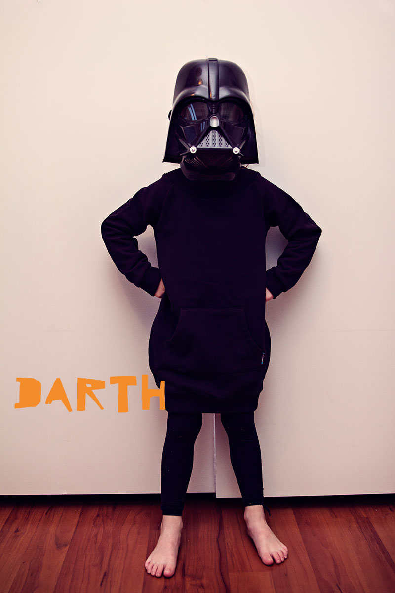 DIY Darth Costume
