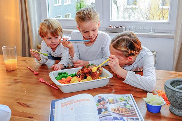 Neue Serie: Kinder testen Kochbücher