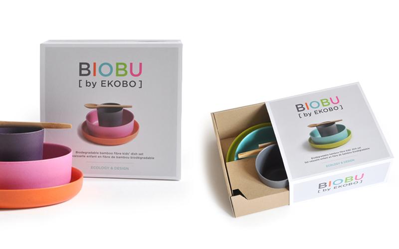 Kindergeschirr - Biobu von Ekobo