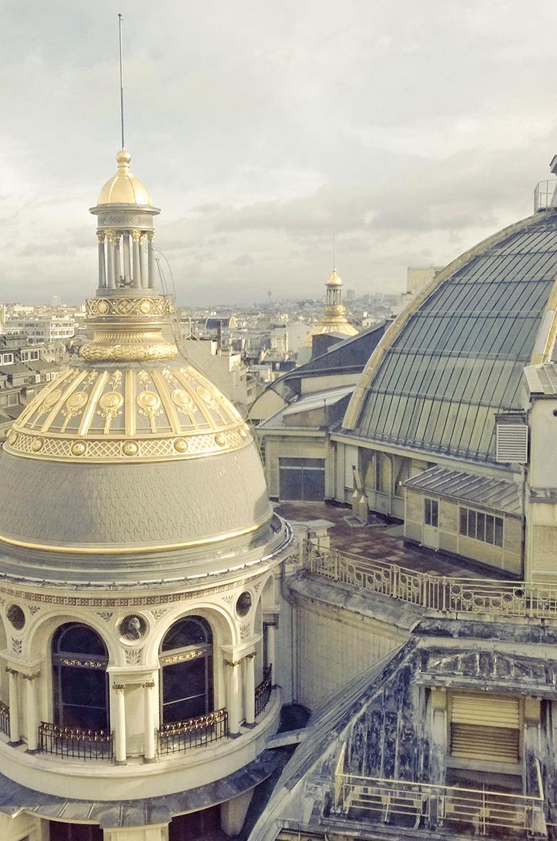 Paris Aussicht Printemps