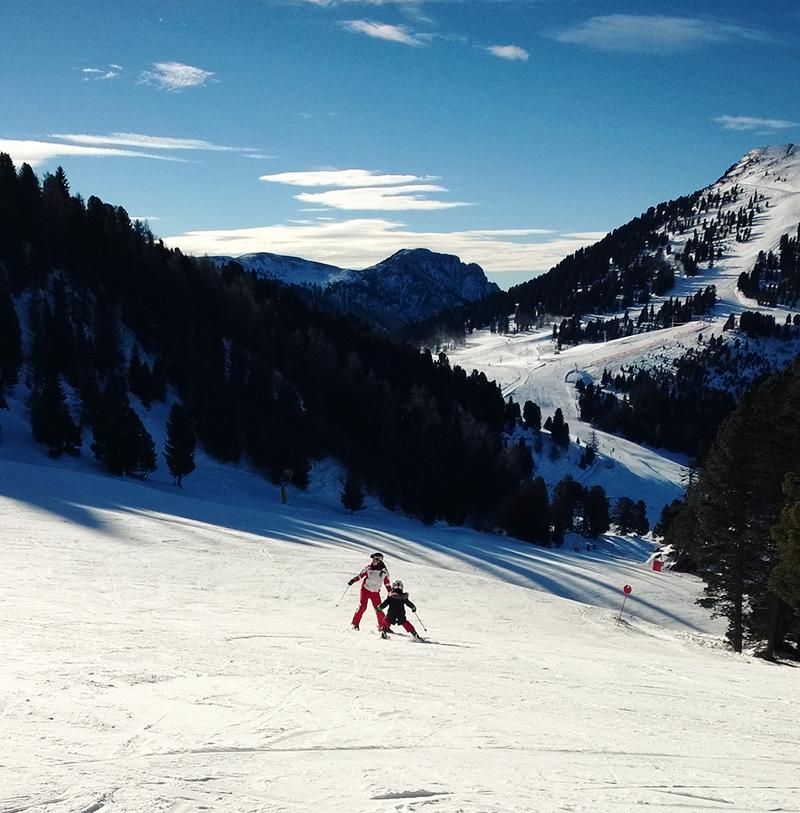 Skikurs Latemar