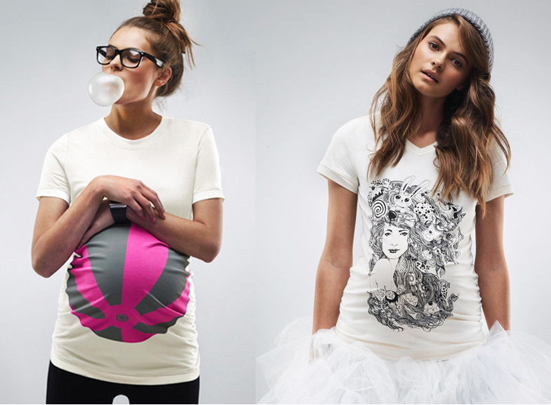 pregnancy shirts from MAMAGAMA