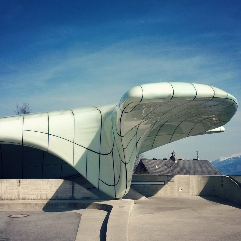 Innsbruck Hungerburg - Zaha Hadid - Tirol - butterflyfish