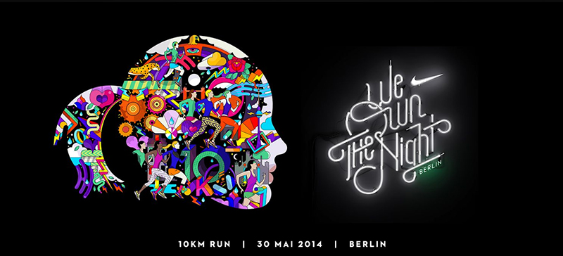 We own the Night Nike Women Run Berlin