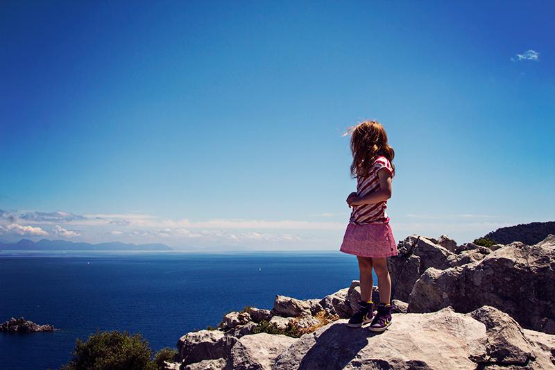 Türkische Ägäis - Amos - Aussicht aufs Meer