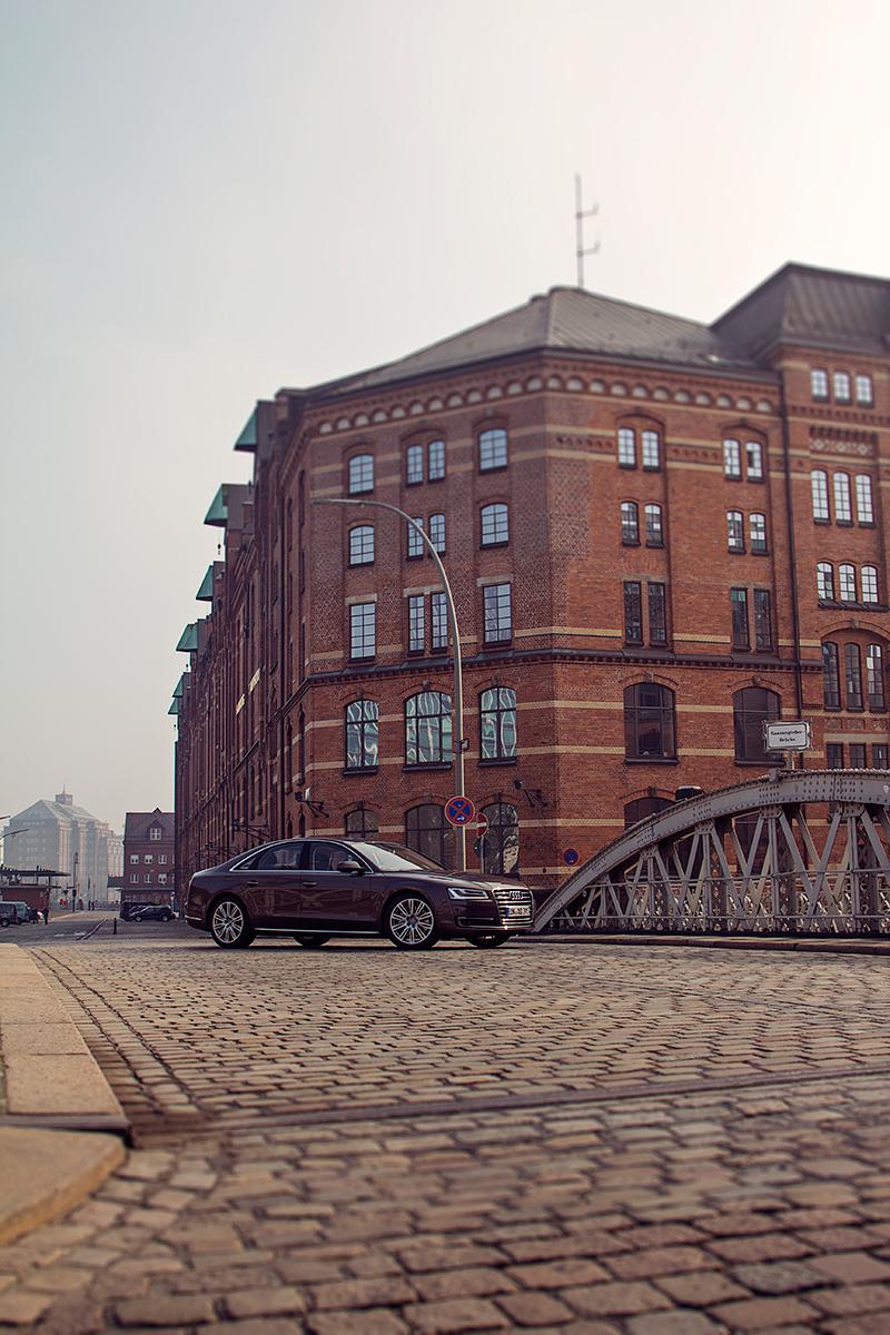 Audi A8 Hamburg Speicherstadt