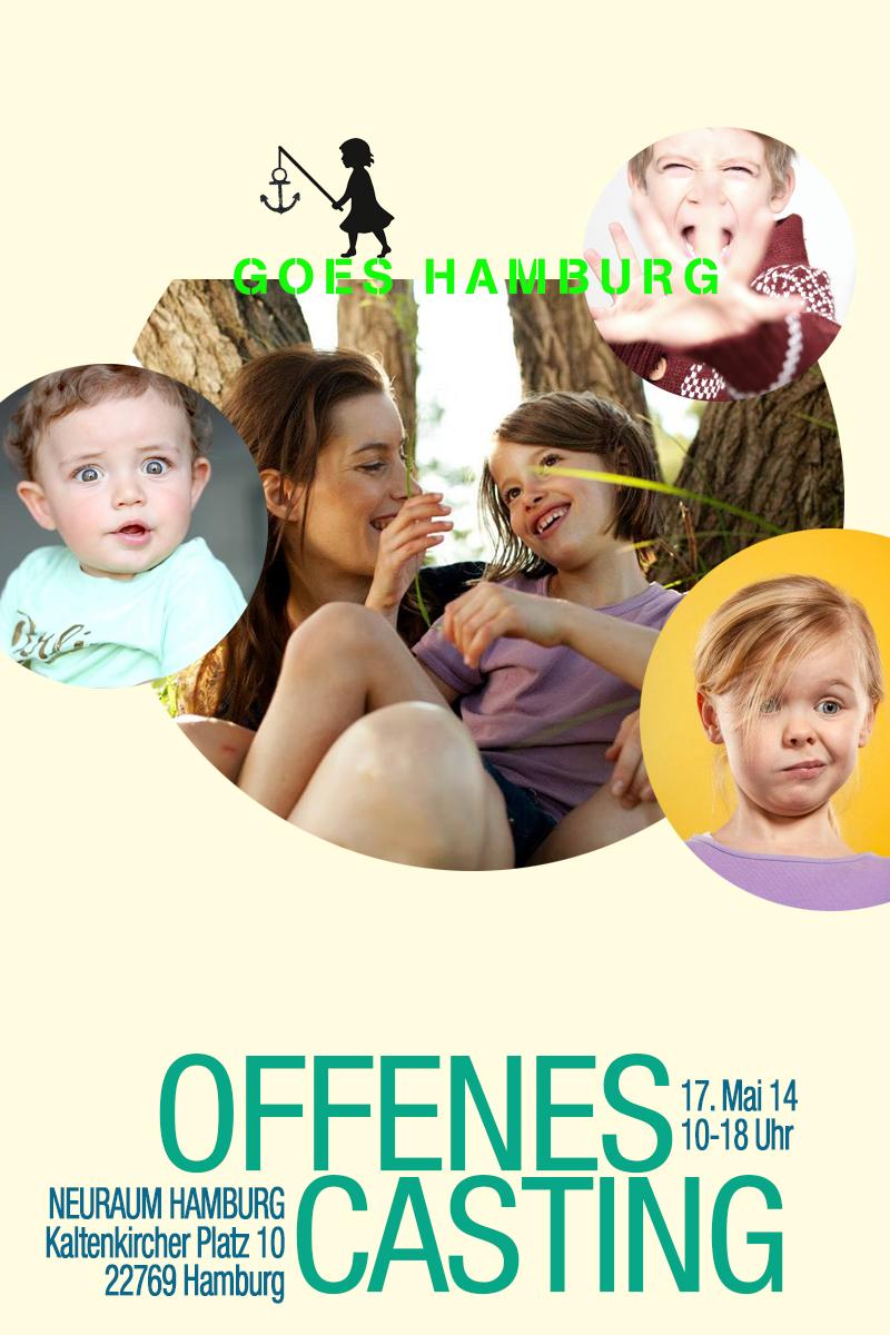 Lichtkind offenes Casting Hamburg