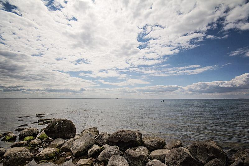 Ostsee Rügen Blick aufs Meer