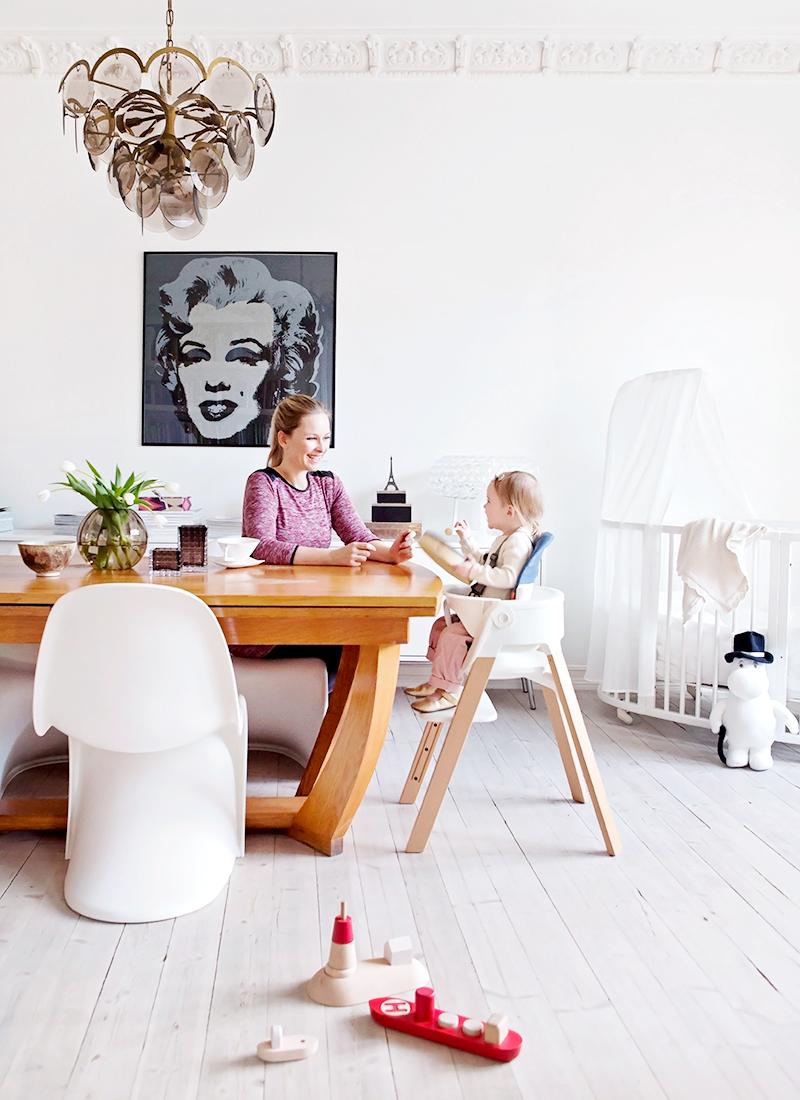 Der Neue Kinderhochstuhl Steps Von Stokke