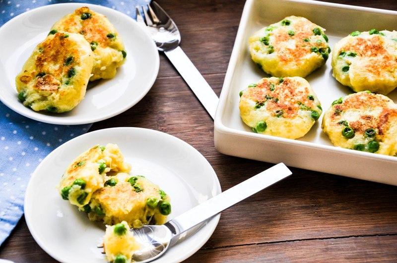 Rezept Für Kinder Kartoffel Erbsen Taler