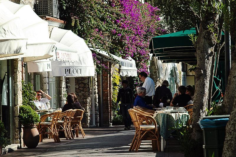 Shopping in Capri