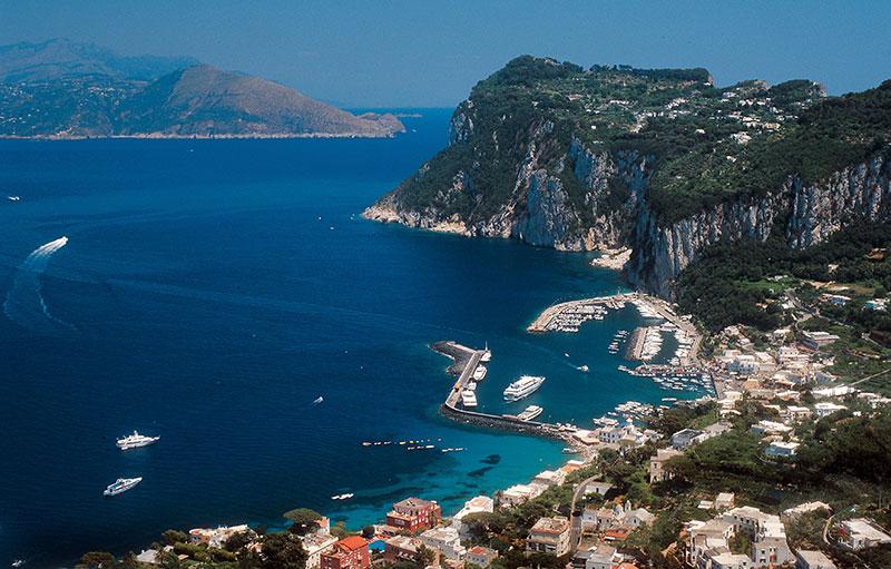 Capri - Urlaub mit Familie