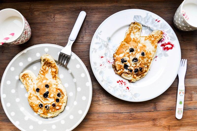 Buttermilch_Blaubeer_Hasen_Pancakes_1
