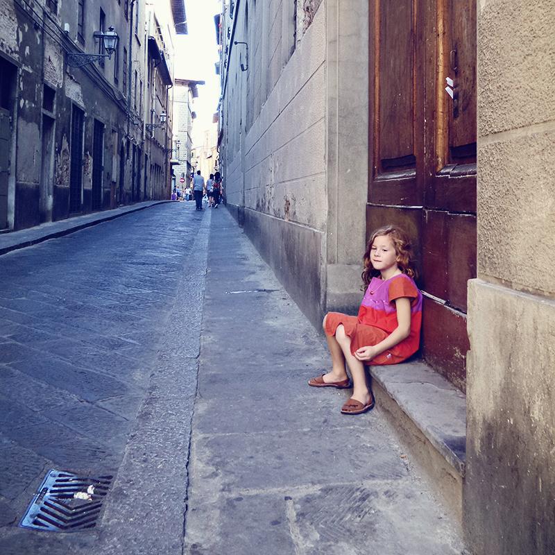 Pause in Florenz