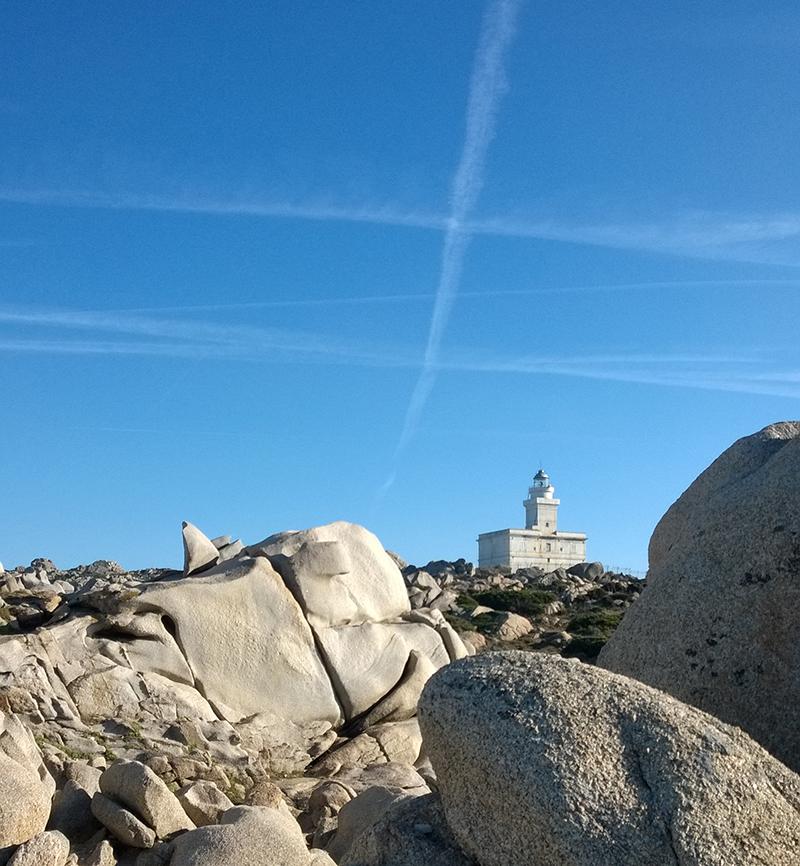 Sardinien mit Kindern - Capo Testa Leuchtturm