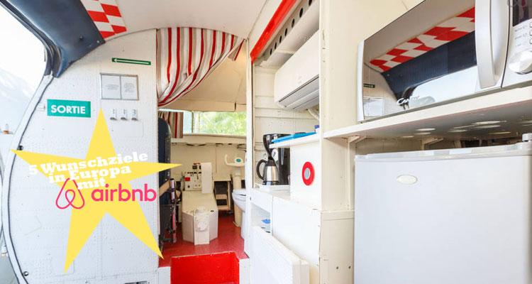wunschziele in europa airbnb