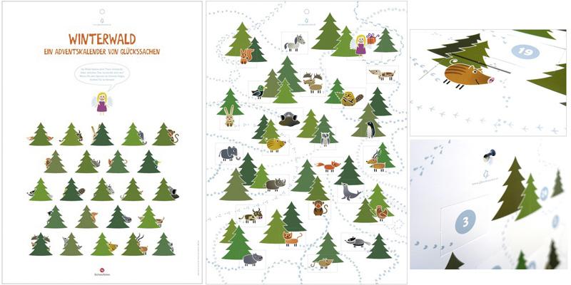 Glückssachen Winterwald