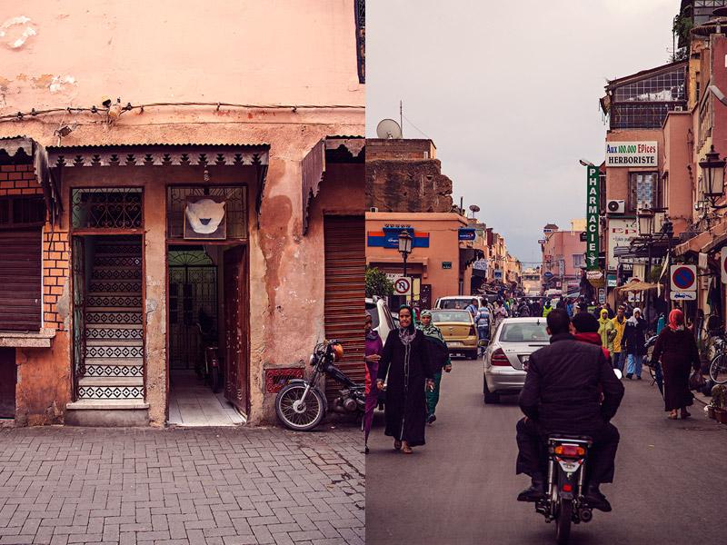 wochenende marrakesch Medina