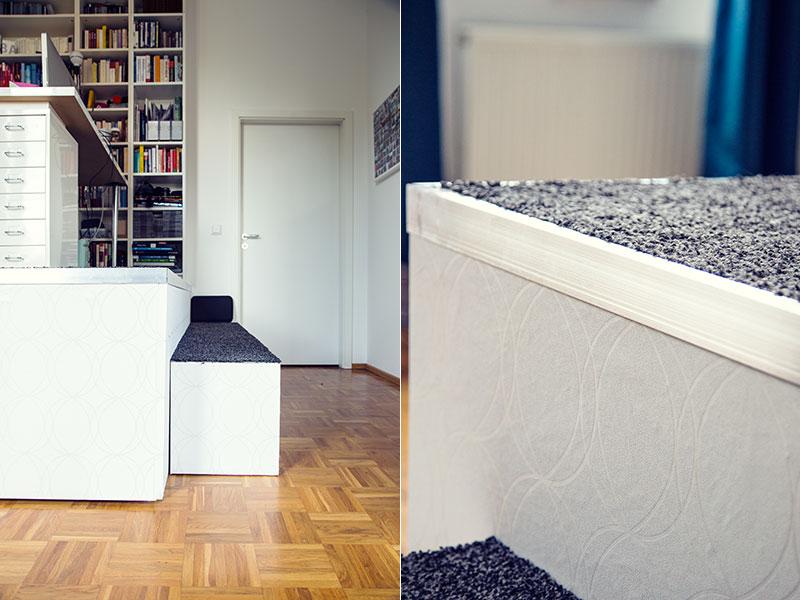 podest selbst bauen butterflyfish. Black Bedroom Furniture Sets. Home Design Ideas