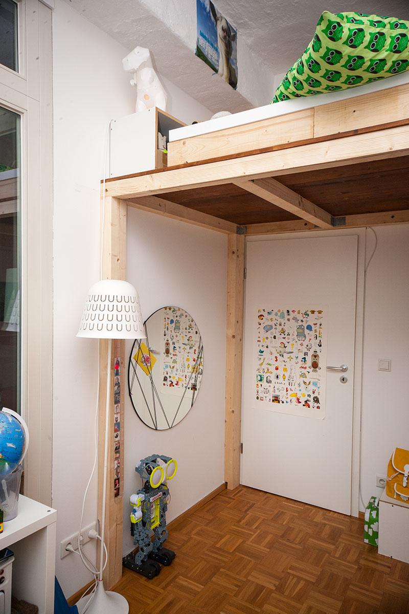 Super Ein Hochbett selber bauen - DIY Anleitung - Butterflyfish ID23