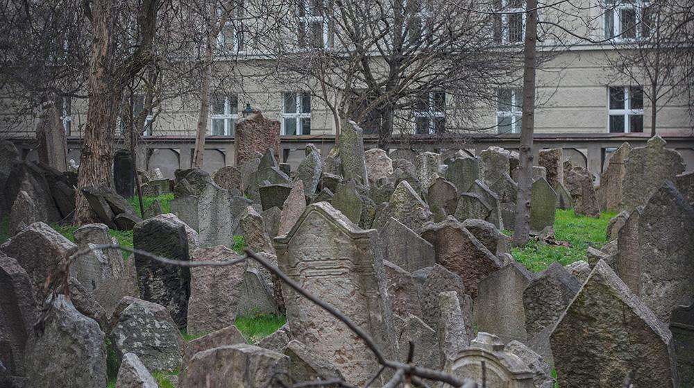 prag mit kindern entdecken alter juedischer friedhof